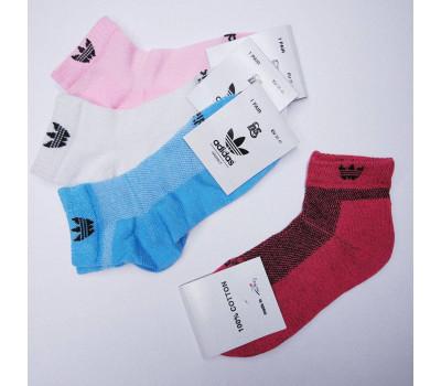 Шкарпетки жіночі Снікерс ORIGINALS короткі сітка 12шт/уп///