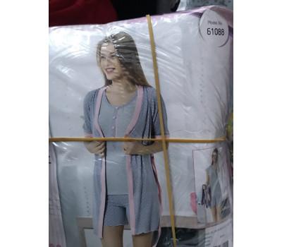 Набор  халат+шорти 61088