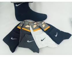 Шкарпетки чоловічі Спорт стрейч,середні Nike (розмір 41-44) асорті 12шт/уп