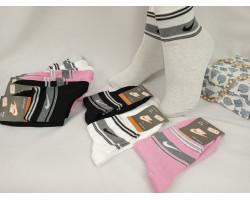 Шкарпетки жіночі Спорт стрейч,середні Nike (розмір 36-40) асорті 12шт/уп