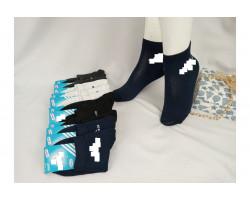 Шкарпетки жіночі Спорт стрейч,середні Adidas (розмір 36-40) асорті 12шт/уп