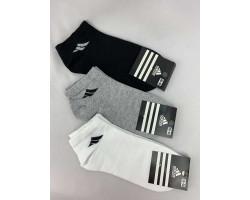 Шкарпетки жіночі СПОРТ стрейч,короткі Адідас (розмір 35-40) асорті 12шт/уп