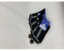 Шкарпетки чоловічі Спорт стрейч,теніс Adidas (розмір 41-44) чорні 12шт/уп